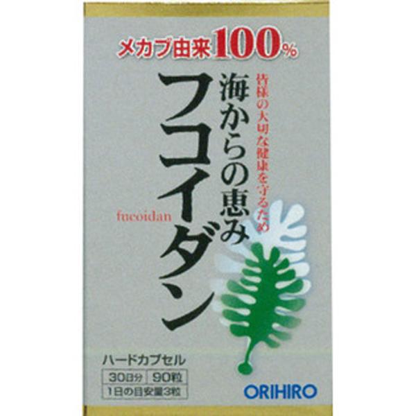 Orihiro 褐藻糖胶90粒