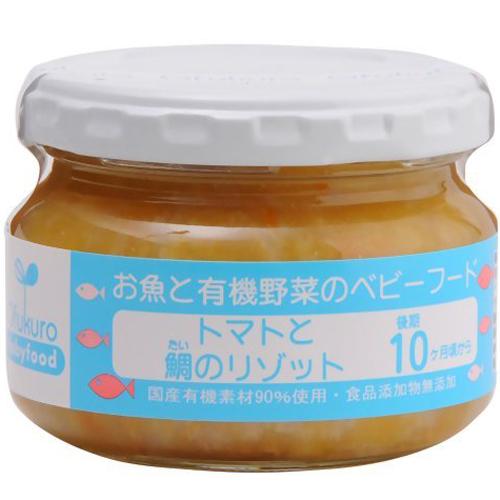 味千汐路婴儿辅食番茄鲷鱼烩饭罐装