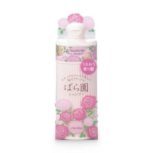 资生堂天然玫瑰香修护滋养 持久柔顺洗发水 300ml