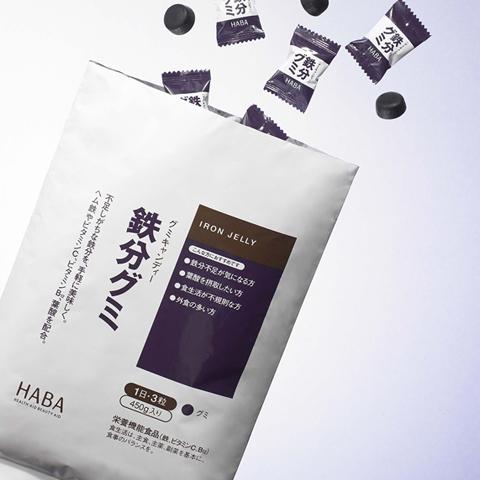 HABA 叶酸补铁铁分软糖