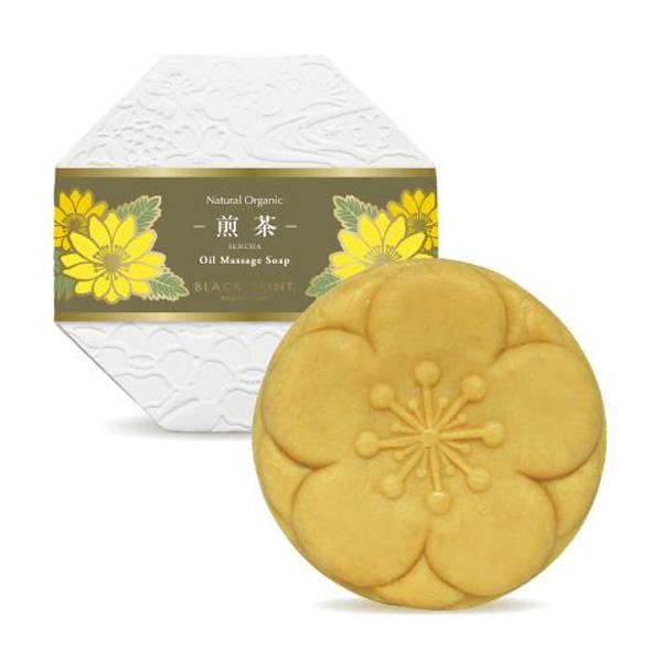 Black paint京都手工精油洁面皂 煎茶