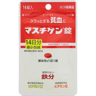 日本臓气制药贫血用药成人用14粒