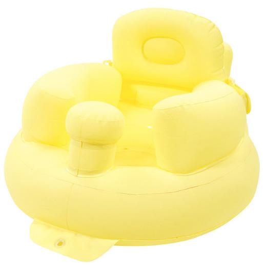 阿卡佳 婴儿充气椅黄色