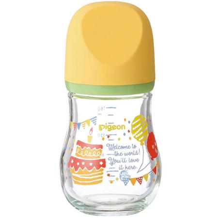 贝亲 新生婴儿母乳实感玻璃奶瓶160ml 聚会 预定