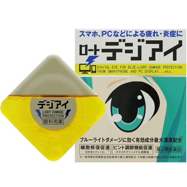 乐敦 初音未来抵御蓝光专用眼药水