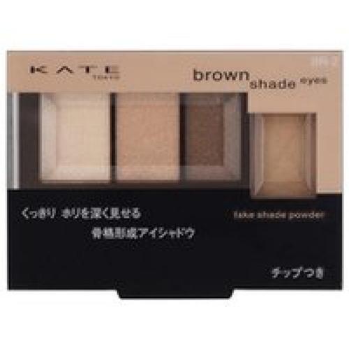 嘉娜宝KATE骨干重塑3+1立体四色眼影+鼻影盘BR-2