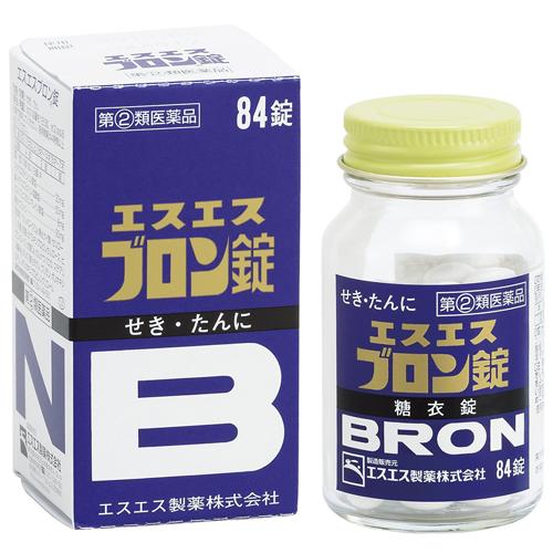 ASS BRON糖衣锭止咳药84粒