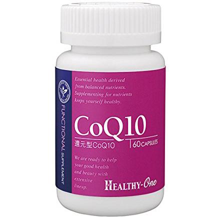 healthy-one 还原型CoQ10辅酶Q 60胶囊