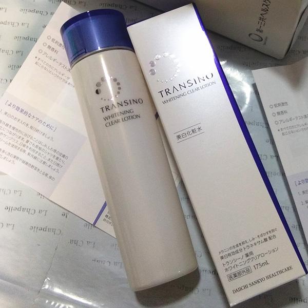 第一三共TRANSINO美白淡斑化妆水