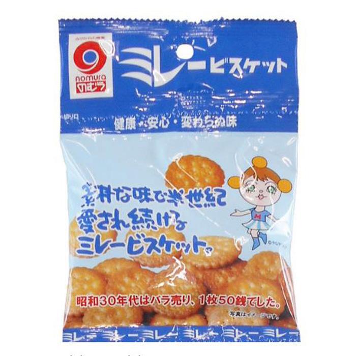 野村米乐健康饼干 4连包盐味