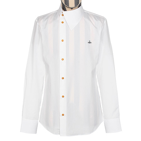 Vivienne Westwood薇薇安 男士经典斜门襟长袖衬衫
