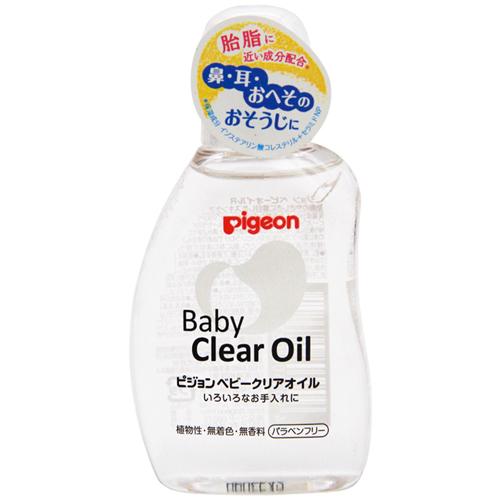 贝亲婴儿BB抚触油润肤油新生儿宝宝植物性按摩油80ml