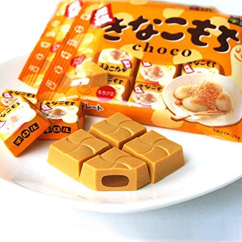 松尾黄豆粉QQ年糕糯米糍夹心巧克力7个