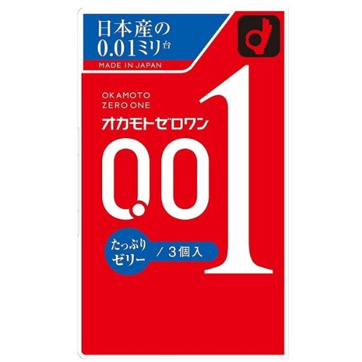 冈本 加量润滑 超薄001 避孕套