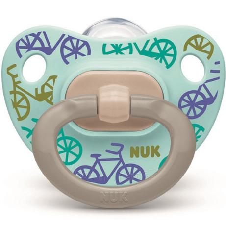 NUK 安抚奶嘴欢乐时光自行车 M 6个月~18个月
