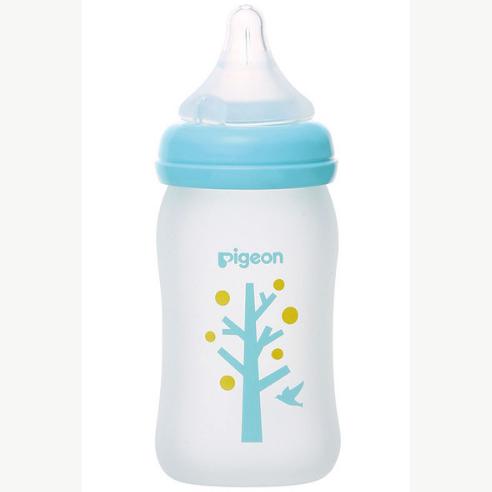 贝亲母乳实感(R)Coating树160ml 玻璃奶瓶