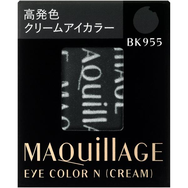 MAQUILLAGE心机彩妆睛亮光彩单色眼影霜芯BK955