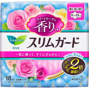 花王 乐而雅零触感超薄系列卫生巾玫瑰香