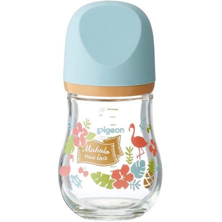 贝亲 新生婴儿母乳实感玻璃奶瓶160ml 夏威夷 预定
