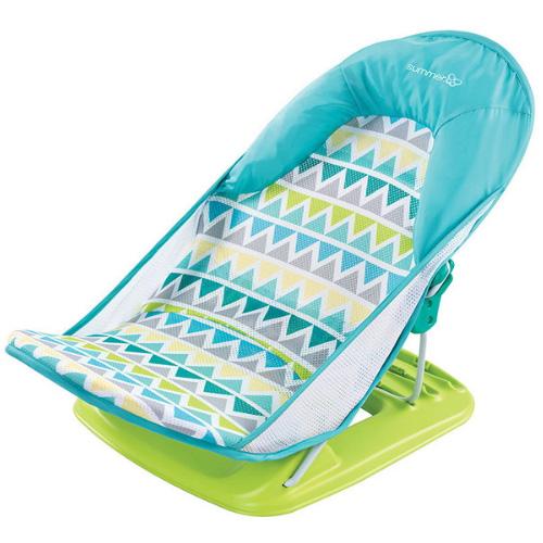 Summer 婴儿沐浴床网托 三角条纹