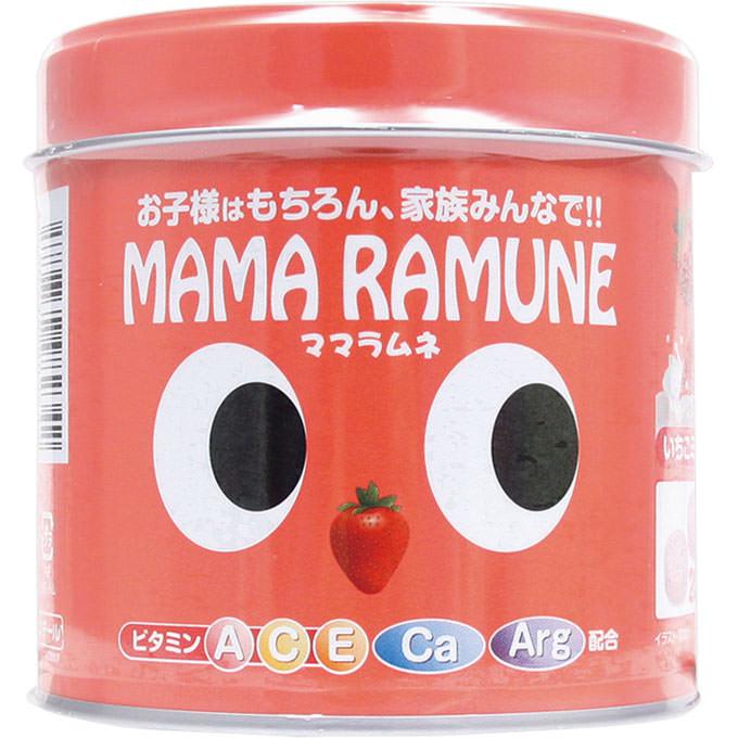 MAMA RAMUNE大眼儿童维生素糖果草莓味
