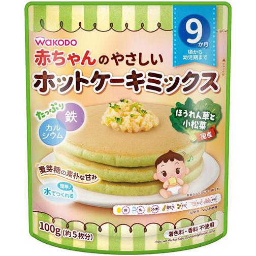 和光堂菠菜小松菜味软蛋糕粉