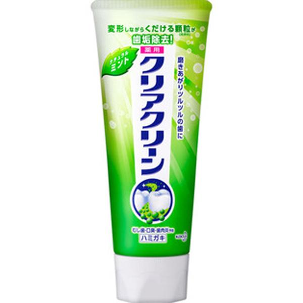 花王Clear Clean洁齿健 研磨颗粒牙膏 原味薄荷