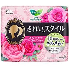花王乐而雅 护垫玫瑰味