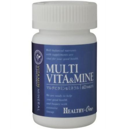 healthy-one 维生素+矿物质 60粒