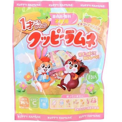 婴儿零食 兔子松鼠角色草莓桔子味点心
